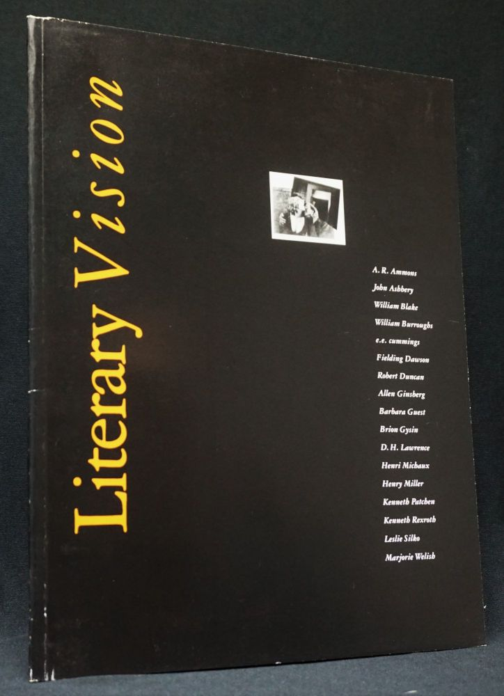 Literary Vision. William S. Burroughs, Brion, Gysin, Henry, Miller, Allen, Ginsberg