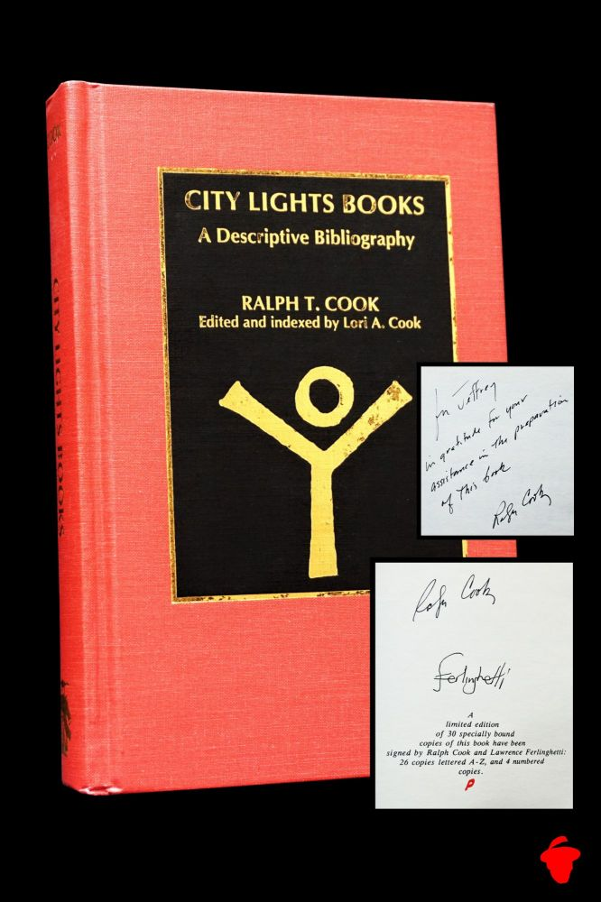 City Lights Books: A Descriptive Bibliography. Ralph T. Cook, Lawrence, Ferlinghetti.