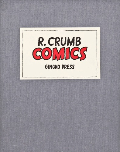 Comics. R. Crumb, Robert.