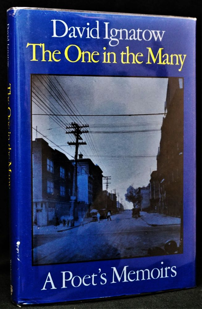 The One in the Many: A Poet's Memoirs PLUS Handwritten Manuscript By Allen Ginsberg. Allen...