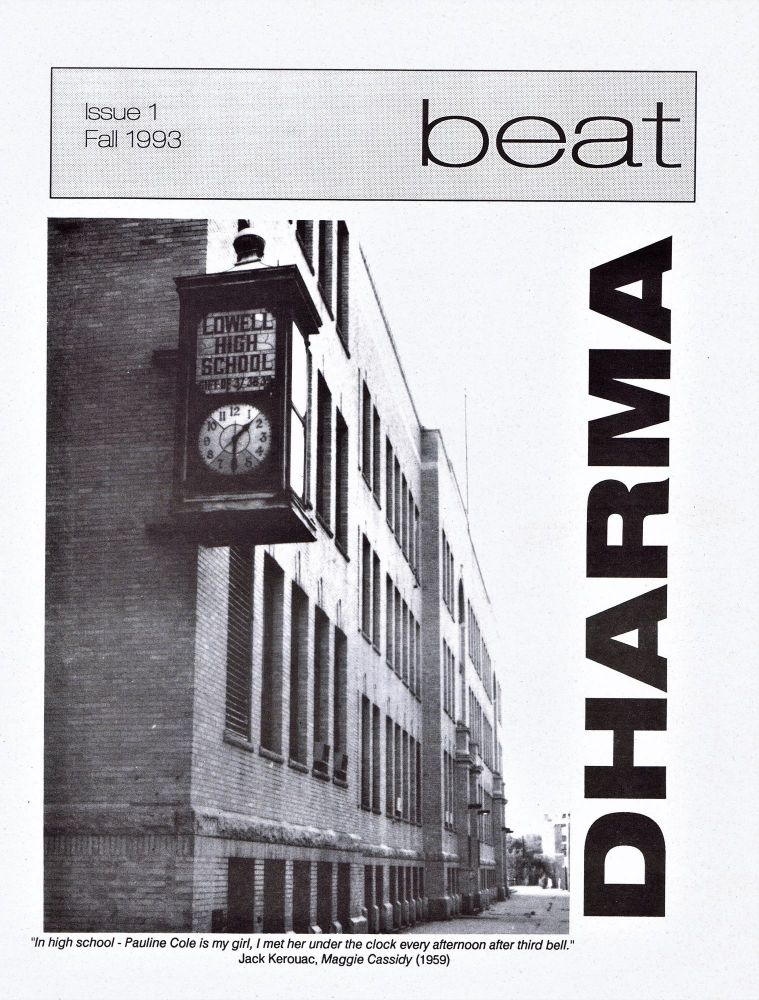 Dharma Beat Issue 1. Fall 1993