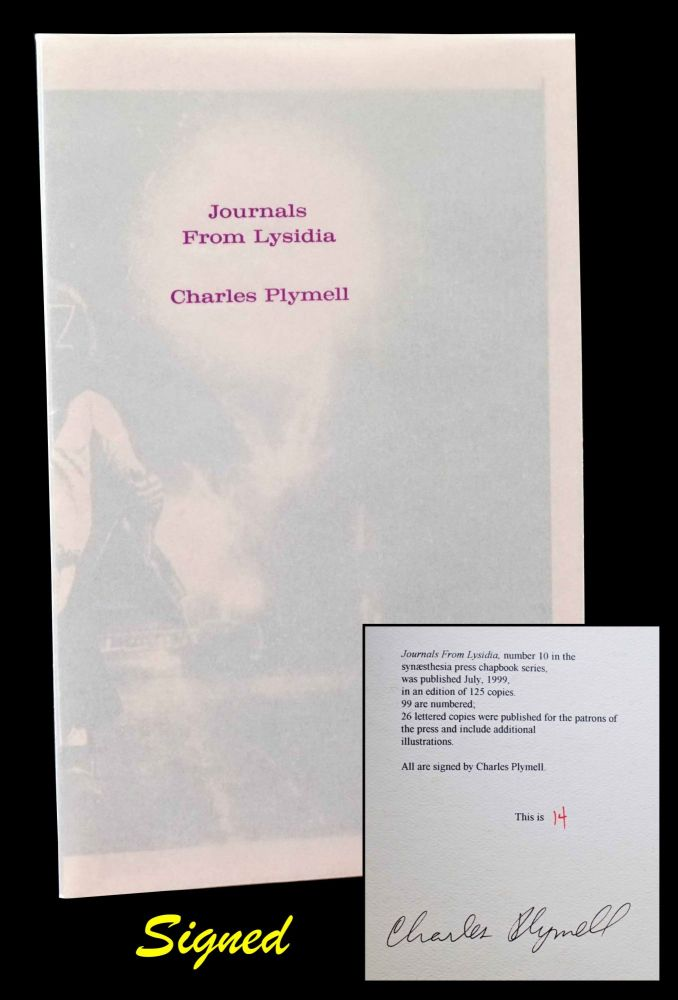 Journals From Lysidia. Charles Plymell