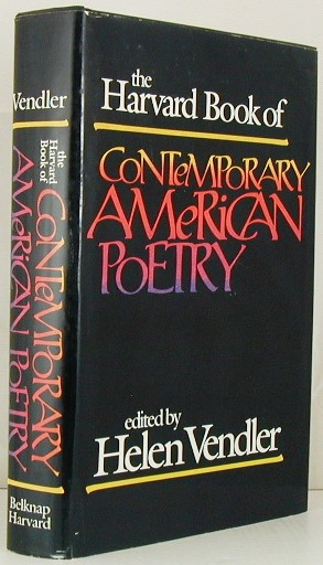 The Harvard Book of Contemporary American Poetry. Helen Vendler.