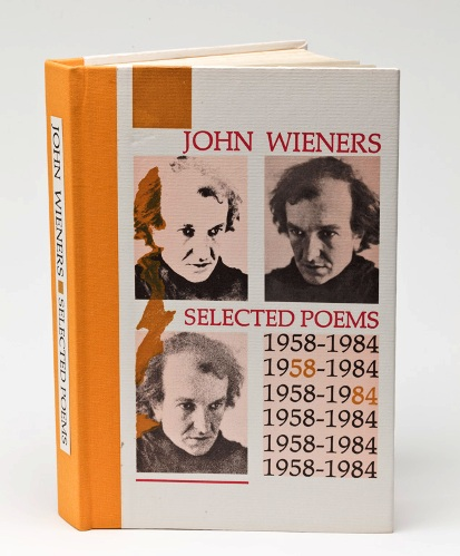 Selected Poems 1958-1984. John Wieners