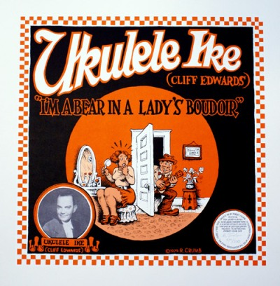 Ukelele Ike (Cliff Edwards). R. Crumb, Robert