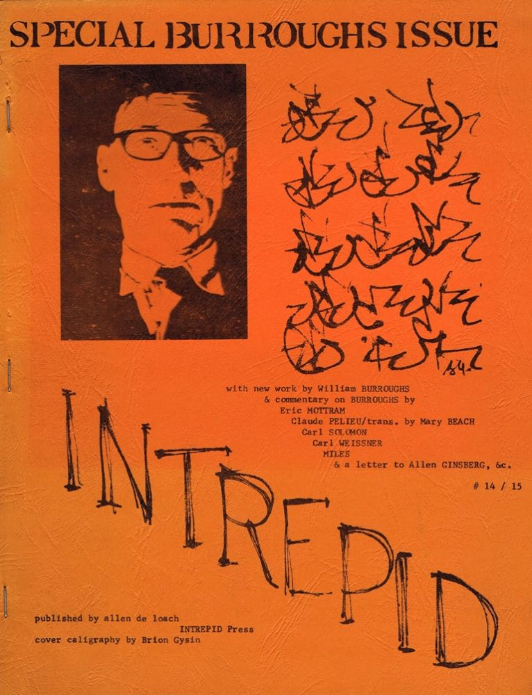 Intrepid #14/15: Special Burroughs Issue. William S. Burroughs.
