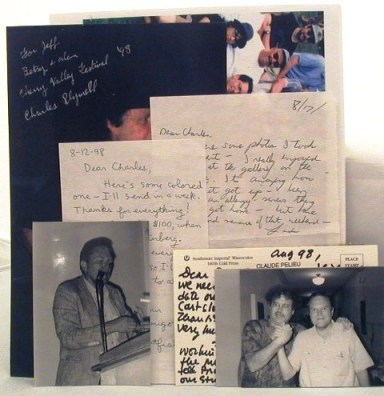 File of correspondence & original photographs pertaining to the 1998 Beat Reunion Festival in...