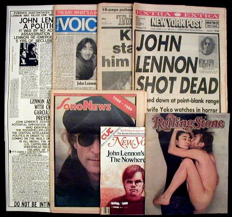 John Lennon's Assasination Collection. John Lennon.