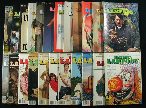 National Lampoon, 22 Issue Collection. National Lampoon.