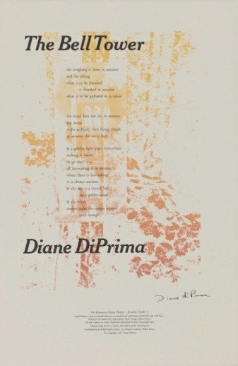 The Bell Tower. Diane di Prima.