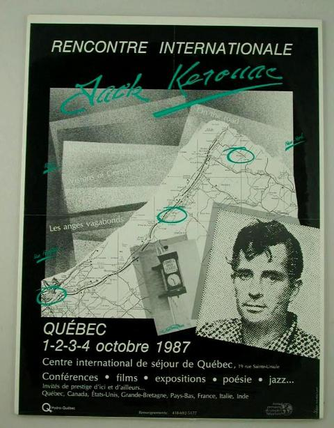 Recontre Internationale Jack Kerouac. Secretariat Permanent des Peuples Francophones, Jack Kerouac