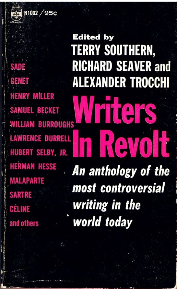 Writers in Revolt: An anthology. William S. Burroughs.