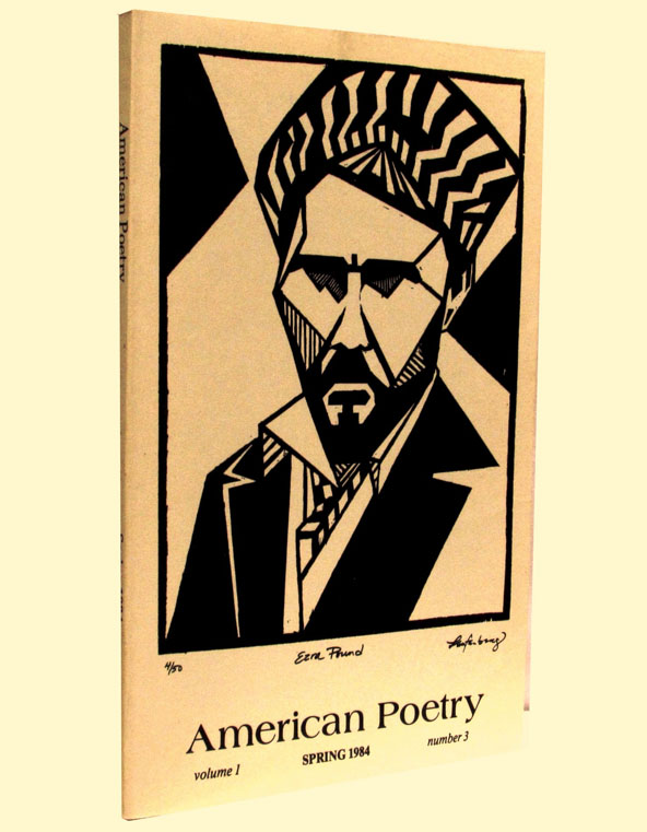 American Poetry, Vol. 1, No. 3, Spring 1984. Clayton Eshleman, James Joyce, Ezra Pound, Diane...