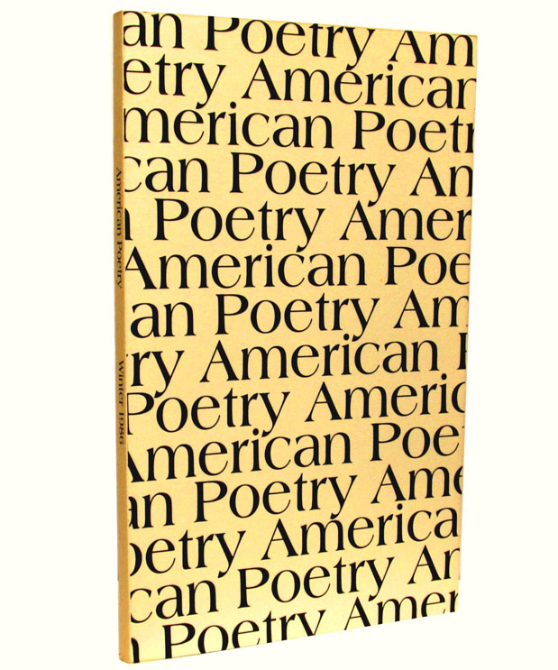 American Poetry, Vol. 3, No. 2, Winter 1986. Elizabeth Bishop, Robert Duncan, David Ignatow, Kenneth Rexroth, Diane Wakoski, William Carlos Williams.