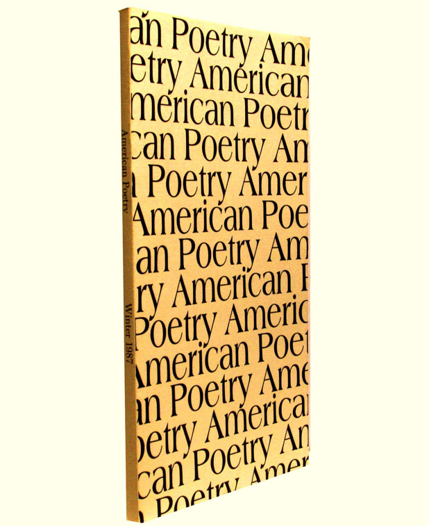 American Poetry Vol. 4 No. 2 (Winter 1987). Emily Dickinson, Clayton Eshleman, Allen Ginsberg,...