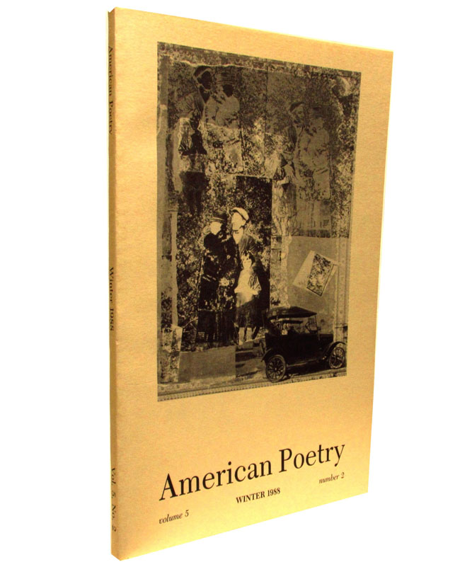 American Poetry Vol. 5 No. 2 (Winter 1988). Robert Lowell, Kenneth Rexroth, Louis, Zukofsky