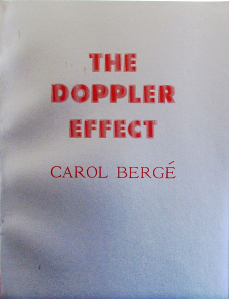 The Doppler Effect. Carol Berge