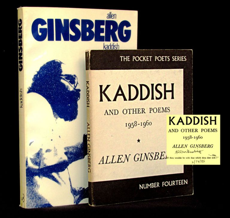 Kaddish (Two Editions). Allen Ginsberg