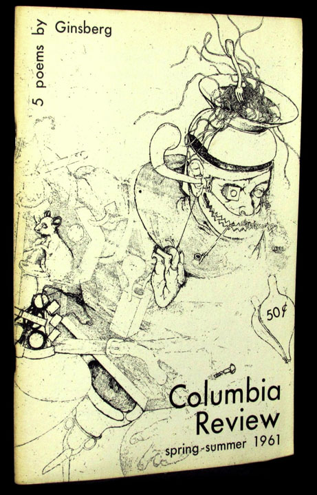 Columbia Review, Vol. 41, No. 3, Spring-Summer 1961. Allen Ginsberg