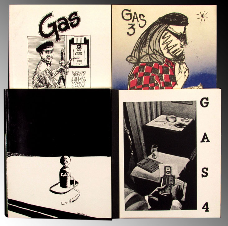 Gas: New College of California Review, Numbers 1-4. Charles Baudelaire, Ted Berrigan, Joe...