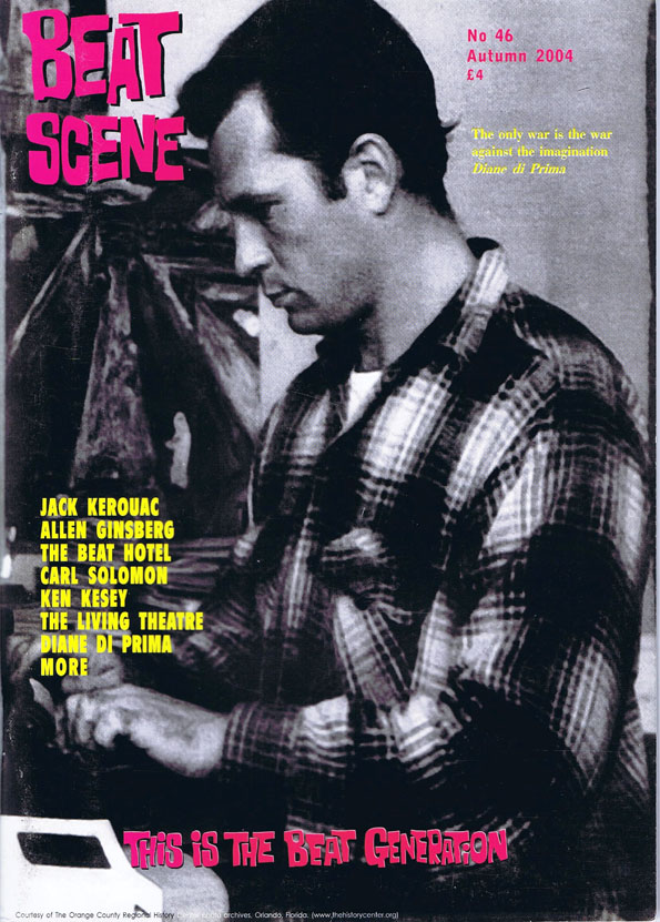 Beat Scene No. 46 (Autumn 2004). Julian Beck, Paul Bowles, Diane di Prima, Jack Gelber, Allen...