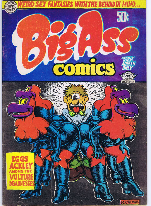 Big Ass Comics No. 1. Robert Crumb