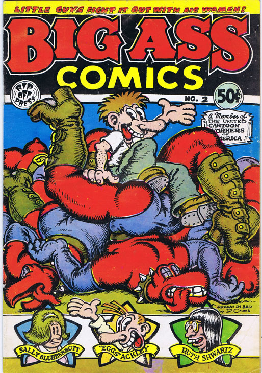 Big Ass Comics No. 2. Robert Crumb