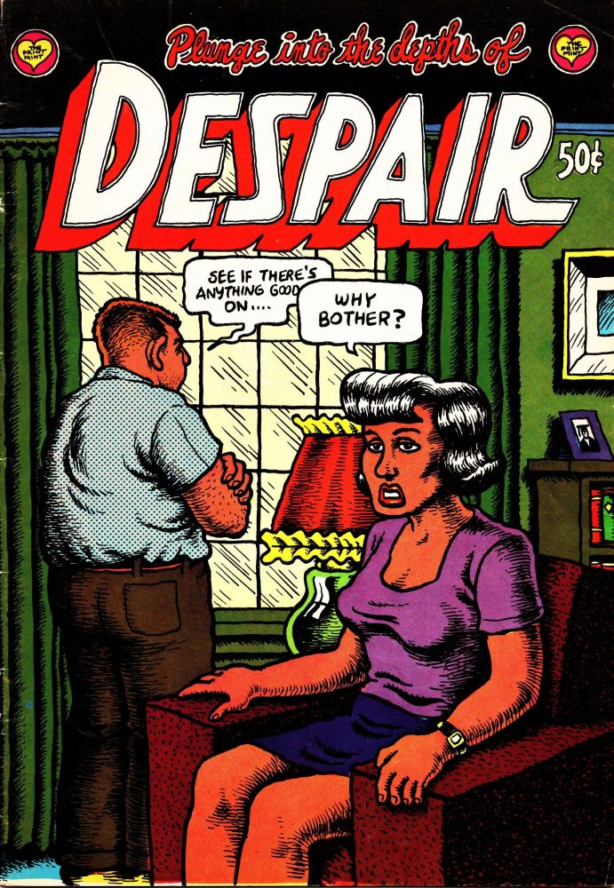 Despair. Robert Crumb