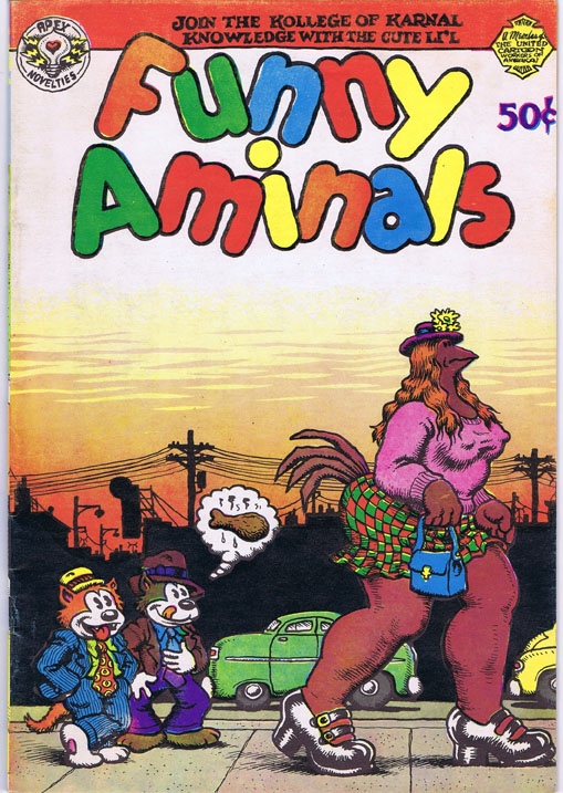 Funny Animals. Robert Crumb, Shary Flenniken, Jay Lynch, Art Spiegelman.