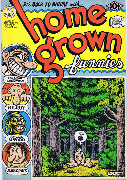 Home Grown Funnies. Robert Crumb.