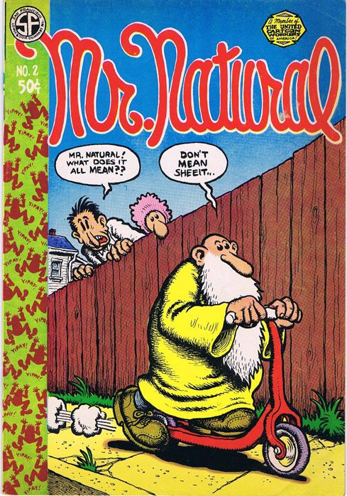 Mr. Natural No. 2. Robert Crumb.