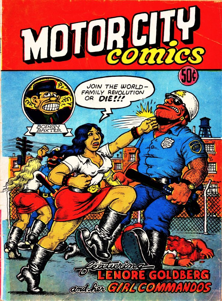 Motor City Comics No. 1. Robert Crumb