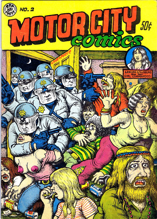 Motor City Comics No. 2. Robert Crumb.