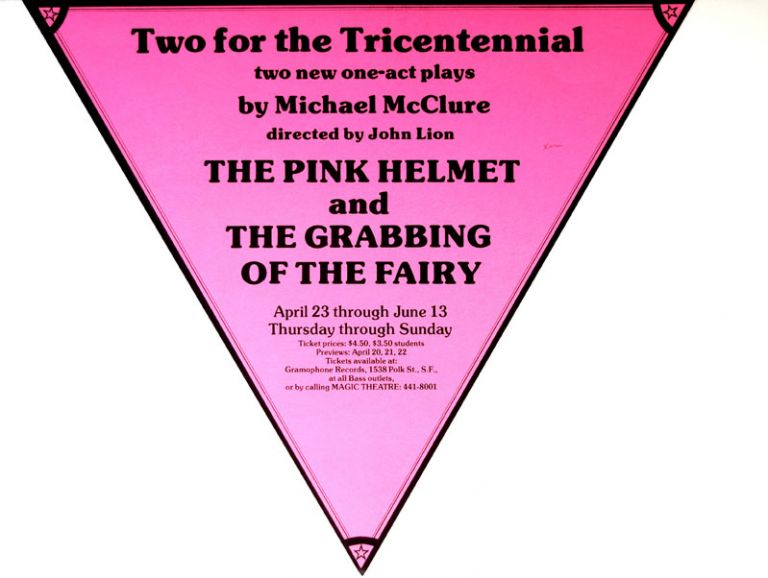 Two for the Tricentennial. Michael McClure.