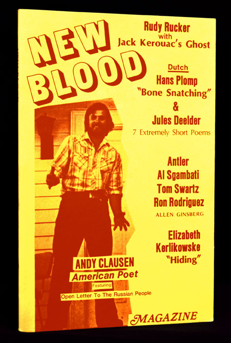 New Blood No. 7. Allen Ginsberg