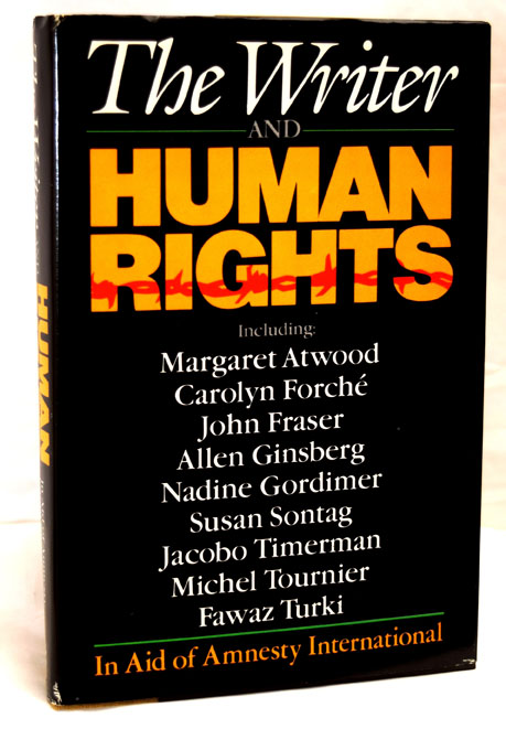 The Writer and Human Rights: In Aid of Amnesty International. Allen Ginsberg