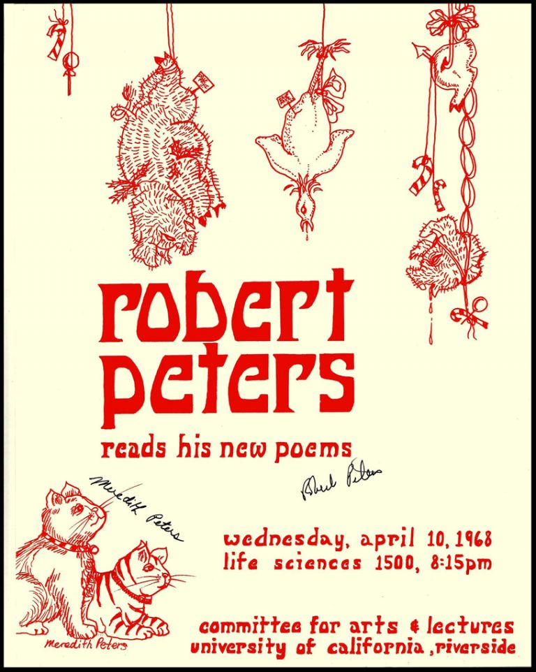 Robert Peters reads his new poems. Robert Peters.