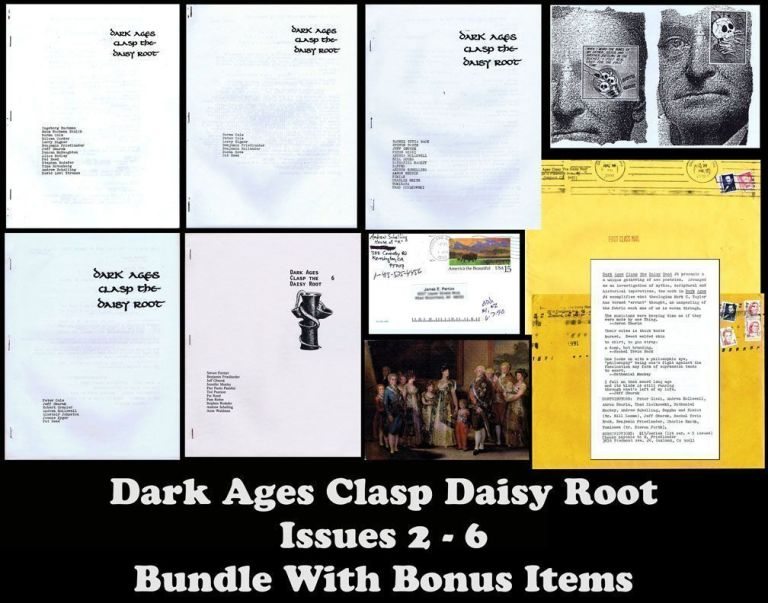 Dark Ages Clasp the Daisy Root, Issues 2-6, with Ephemera. Haim Nachman Bialik, Norma Cole, Peter...