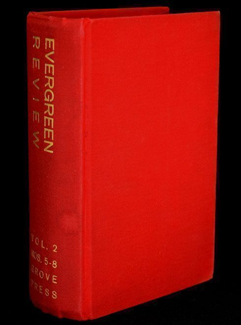 Evergreen Review, Vol. 2, Nos. 5-8, Summer 1958 - Spring 1959. John Ashberry, Samuel Beckett,...