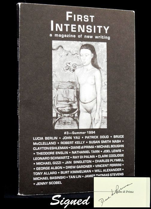 First Intensity: A Magazine of New Writing, #5, Summer 1995. Diane di Prima