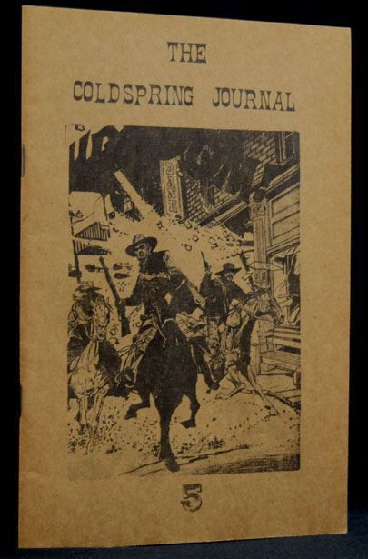 The Coldspring Journal, No. 5, February 1975. Louis Ginsberg, Charles Plymell, Pamela Beach...
