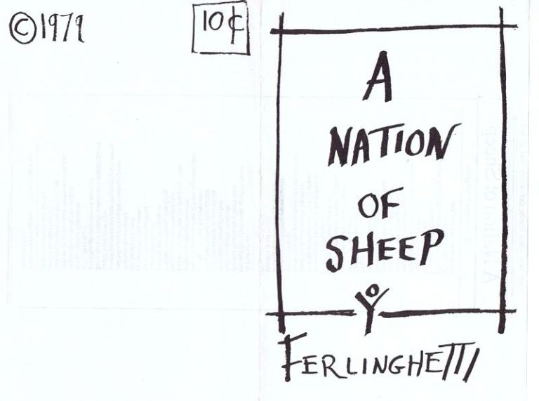 A Nation of Sheep. Lawrence Ferlinghetti.