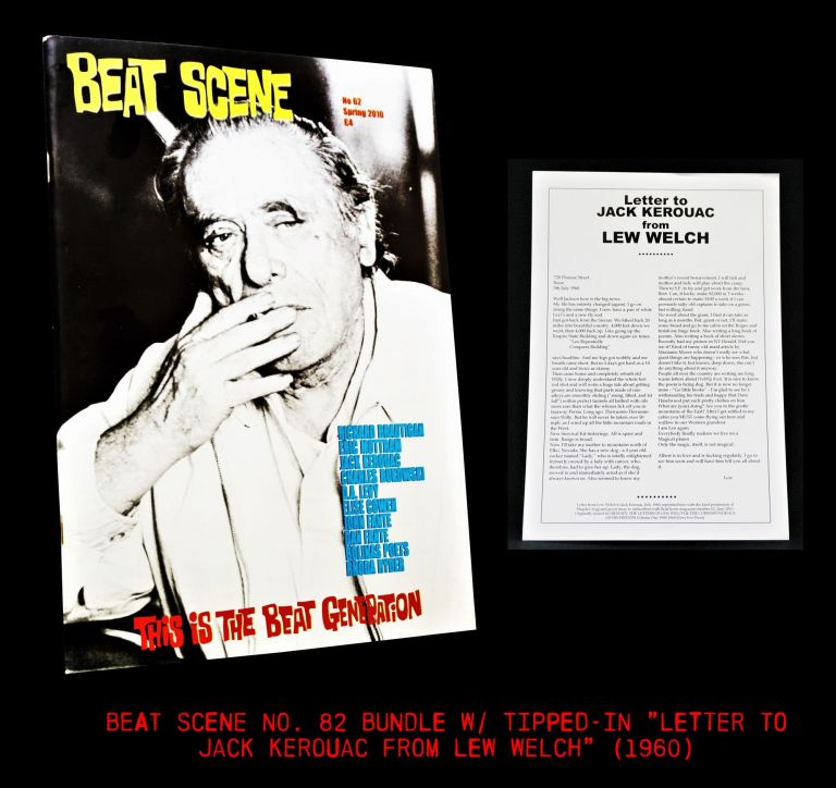 Beat Scene No. 62 (Spring 2010) with; Bonus Ephemera. Richard Brautigan, Charles Bukowski,...