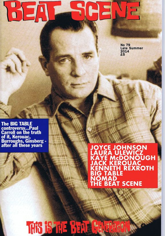 Beat Scene No. 79 (Late Summer 2014). Joyce Johnson, Jack Kerouac, Kaye McDonough, Kenneth Rexroth, Laura Ulewicz.