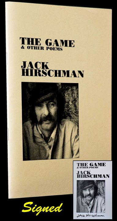 The Game & Other Poems. Jack Hirschman.
