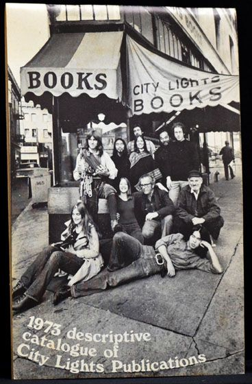 1973 Descriptive Catalogue of City Lights Publications. City Lights Books.