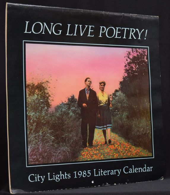 City Lights 1985 Literary Calendar: Long Live Poetry! City Lights Books