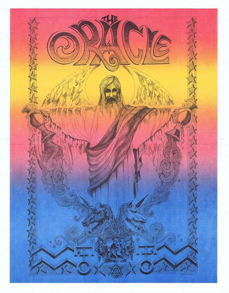 """The Oracle"" Print. Rick Griffin"