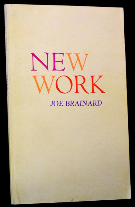 New Work. Joe Brainard