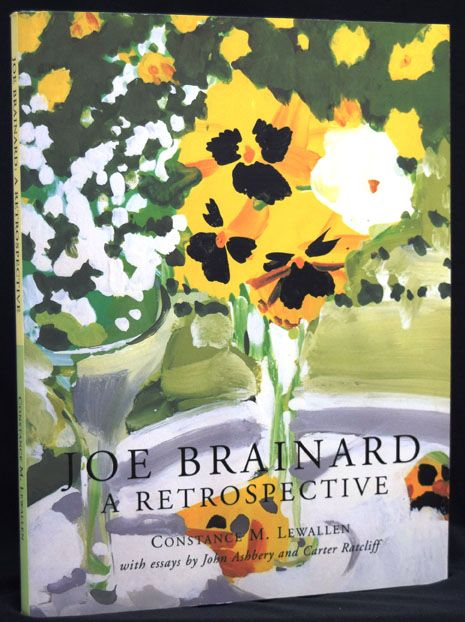 Joe Brainard: A Retrospective with: Exhibition Brochure & other Ephemera. Constance M. Lewallen, Joe Brainard.